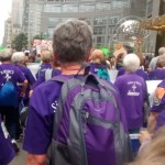 Power to the purple! - Peoples Climate March - New York City 2014