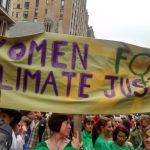Women for Climate Justice at NY People's Climate March.